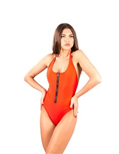 Costum de baie ZIPPER